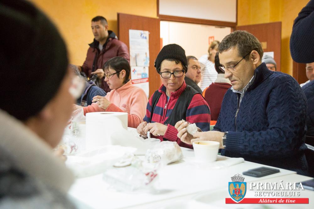Primarul Gabriel Mutu a luat masa de seară împreună cu angajații URBAN SA