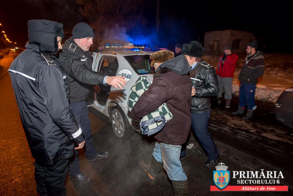 În ultimele zile, poliţiştii locali Sector 6 au identificat 16 persoane fără adăpost