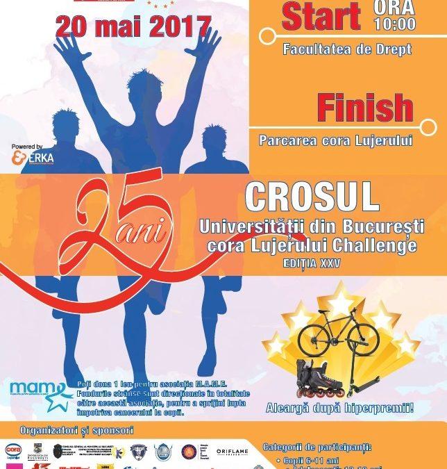 Crosul Universităţii din Bucureşti – cora Lujerului Challenge 2017