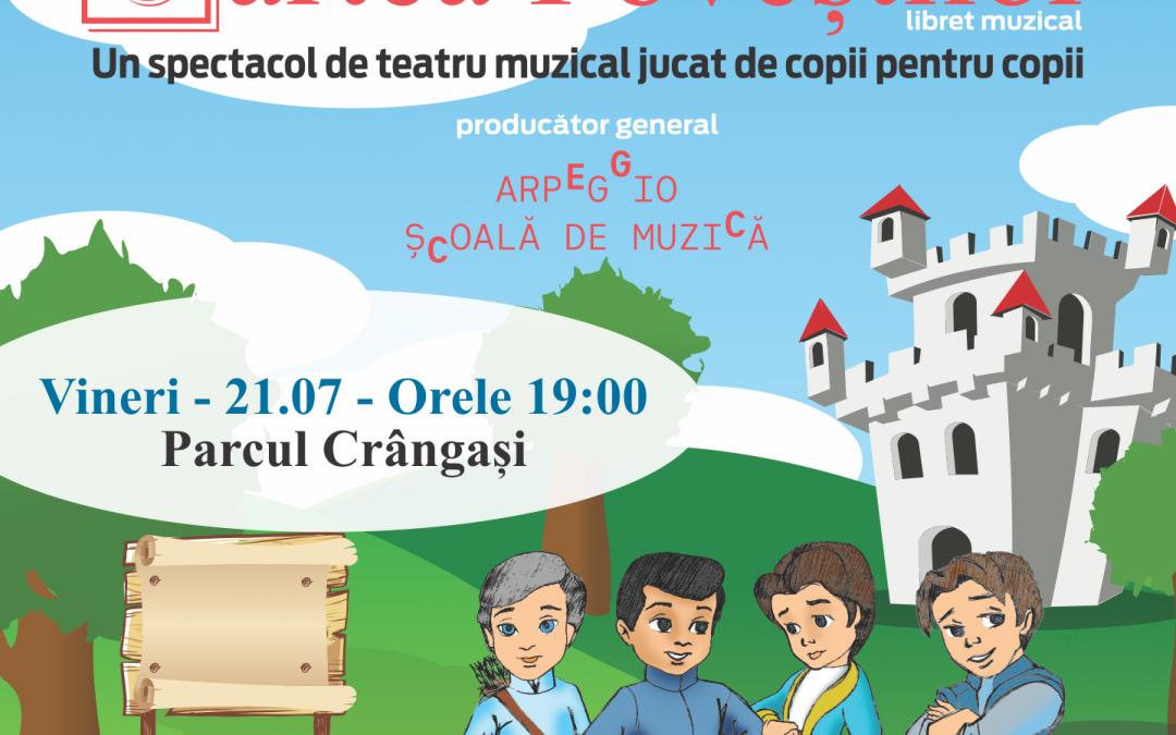 O nouă surpriză muzicală pentru copii, în Parcul Crângaşi