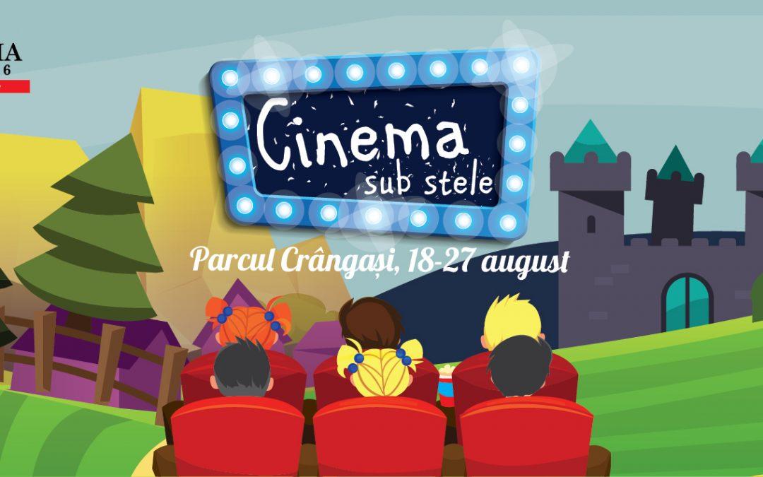 CINEMA SUB STELE: proiecţii de film, gratuite, în Parcul Crângaşi