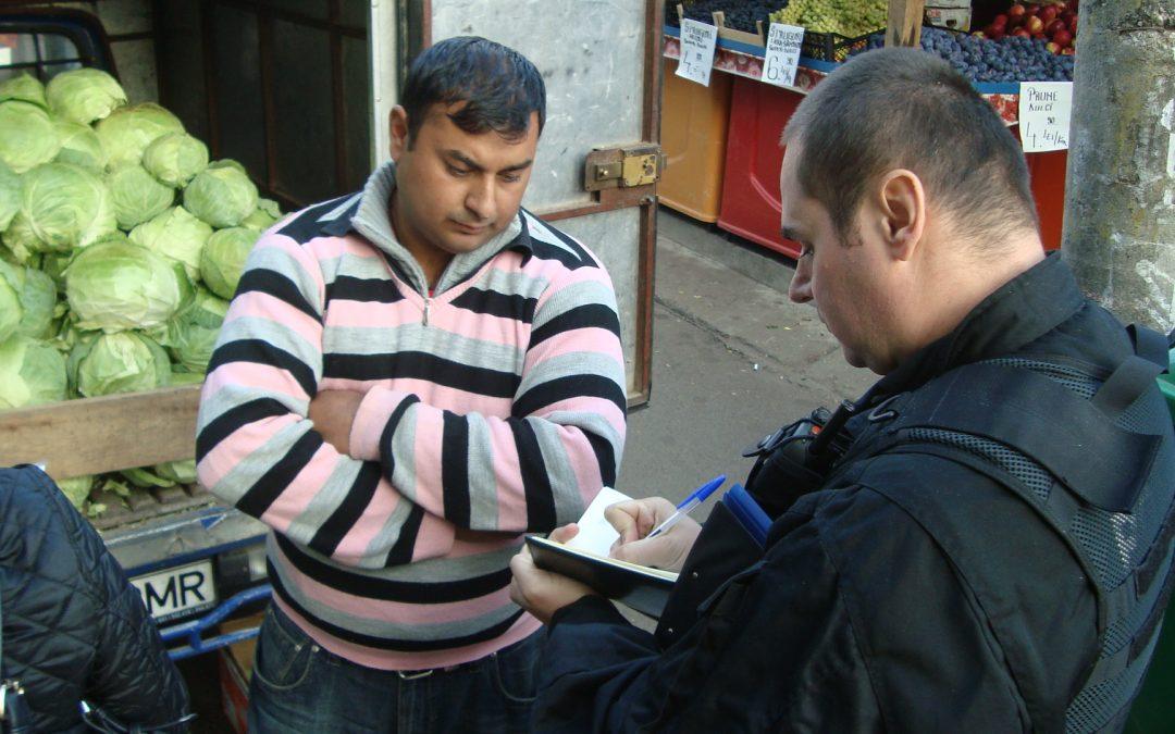 Sancțiuni de 327.400 de lei, aplicate celor care nu au respectat curățenia în piețe și ordinea publică în Sectorul 6