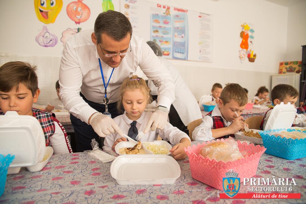 """Primarul Sectorului 6, Gabriel Mutu, a lansat astăzi Programul """"Şcoala după Școală"""""""