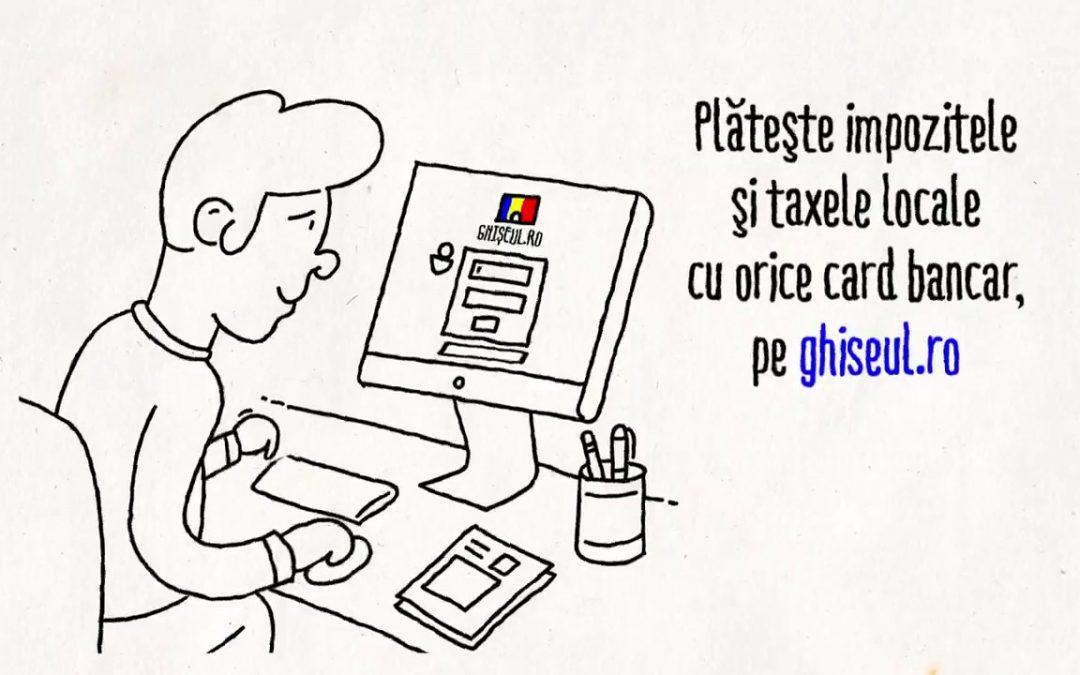 Evitați statul la cozi pentru plata taxelor!  Datele de acces pentru a plăti taxe, impozite şi amenzi prin ghişeul.ro pot fi obţinute online