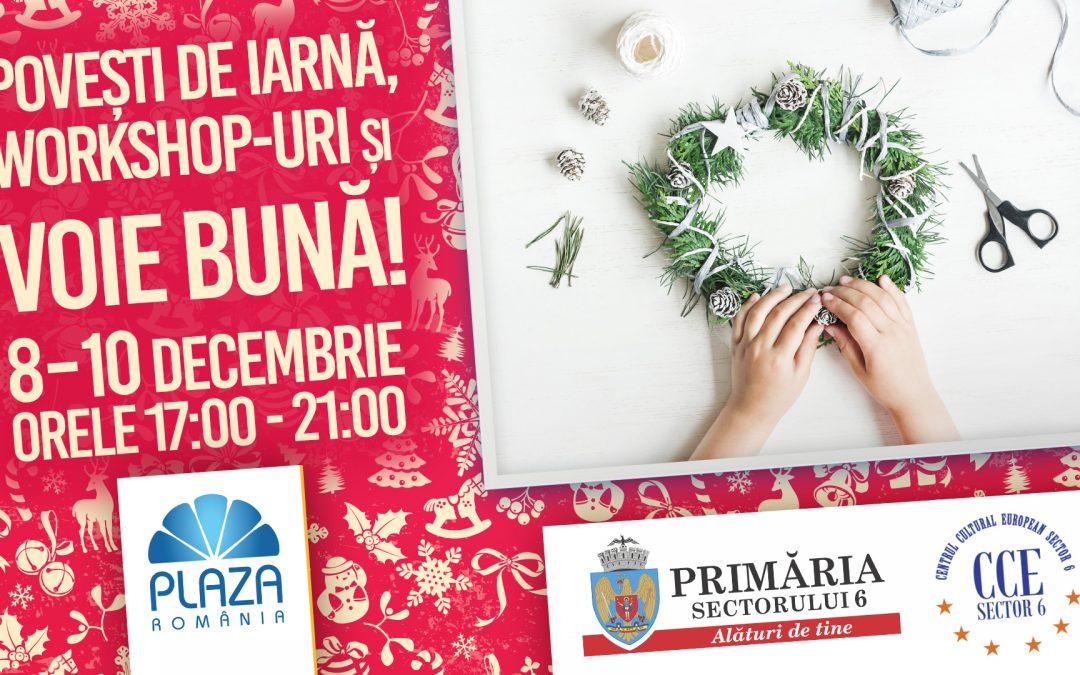 """Evenimentul pentru copii """"Povești de iarnă"""" continuă la Plaza România"""