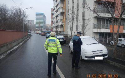 Sancțiuni pentru șoferii care au parcat neregulamentar în Sectorul 6
