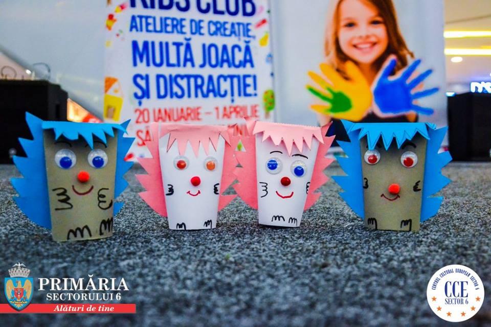 """""""Kids Club"""" înseamnă un nou week-end de distracție în Sectorul 6"""
