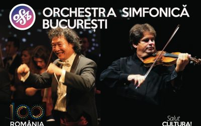 De Dragobete, Orchestra Simfonică București deschide stagiunea SalutCULTURA!