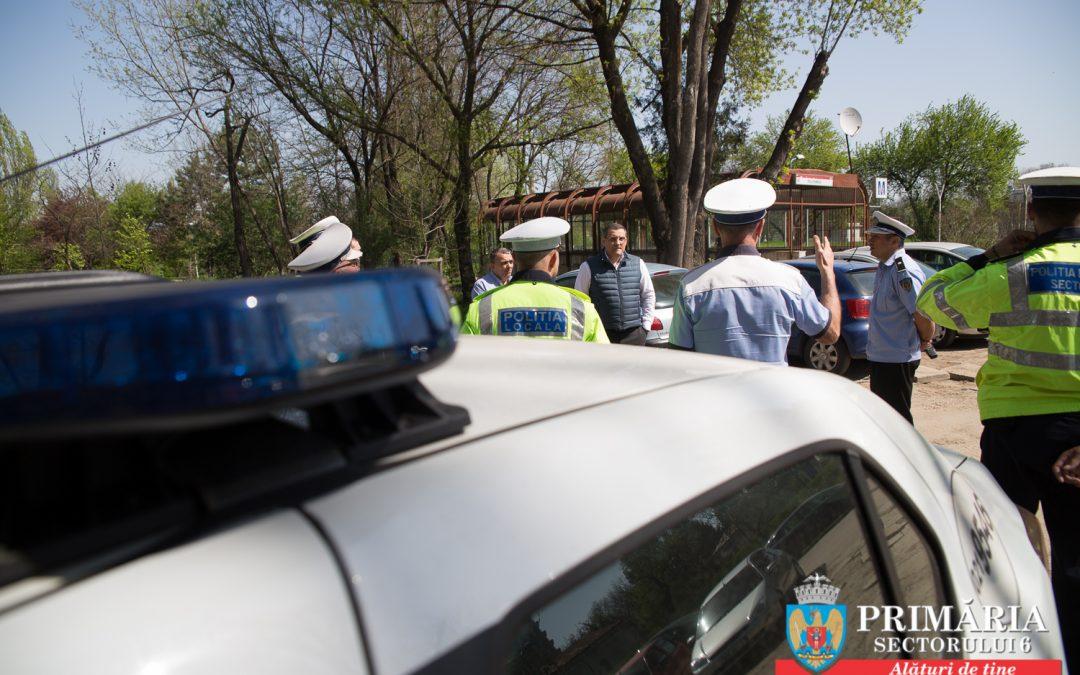 Conducătorii a 140 de autoturisme, sancționați simultan, în același loc din Sectorul 6