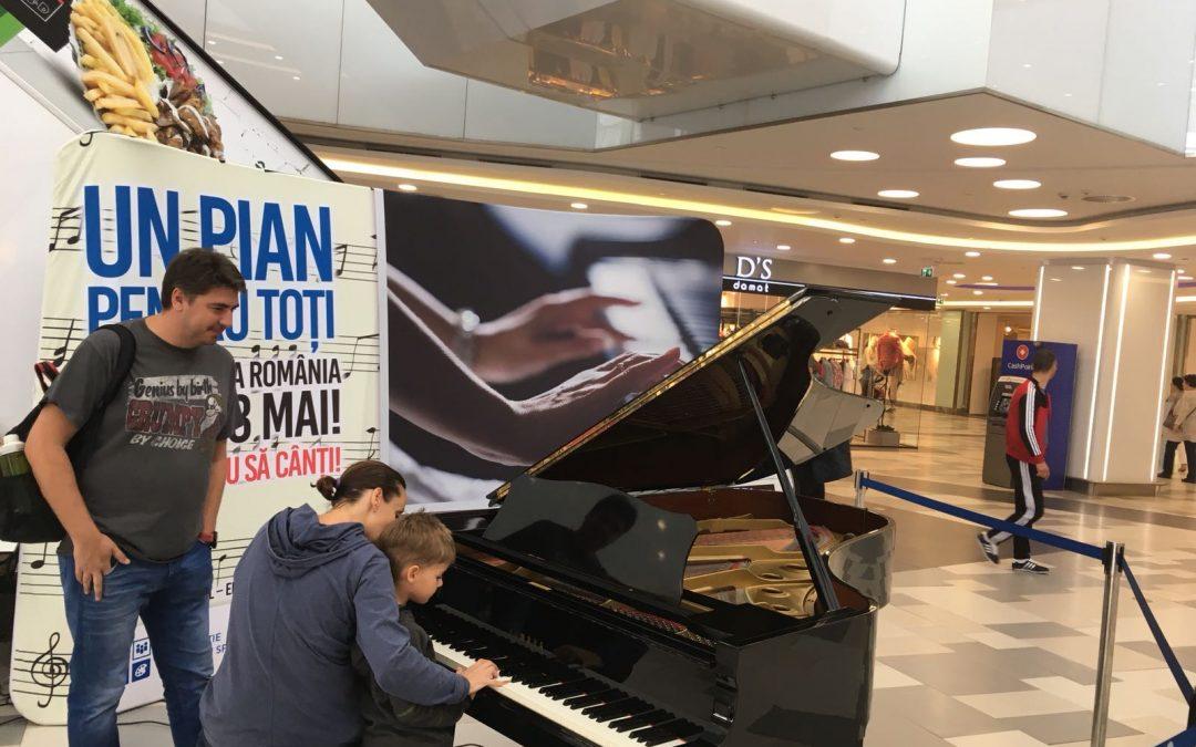 """""""Un pian pentru toți"""", un succes muzical"""