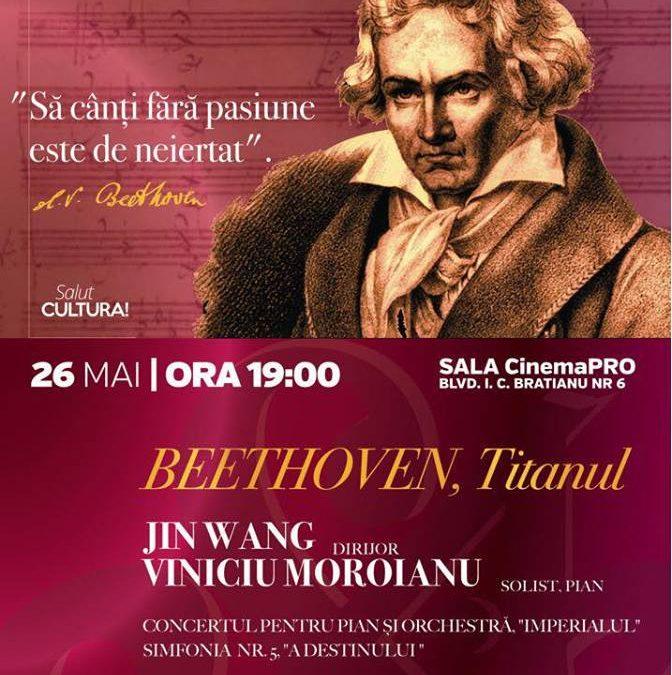 Orchestra Simfonică București continuă stagiunea SalutCULTURA!  Ludwig van Beethoven – TITANUL