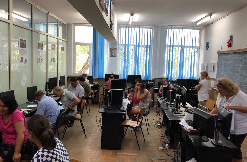 A început cursul de Operator introducere, prelucrare și validare date