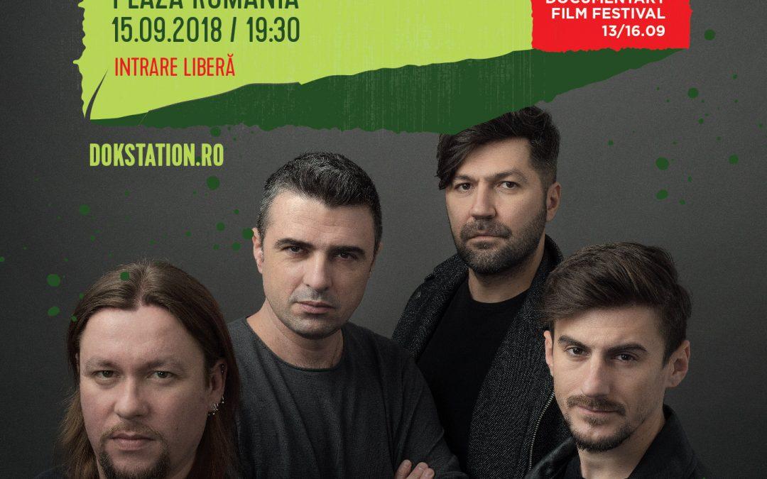 Concert VUNK în aer liber și proiecție, în cadrul DokStation 2018