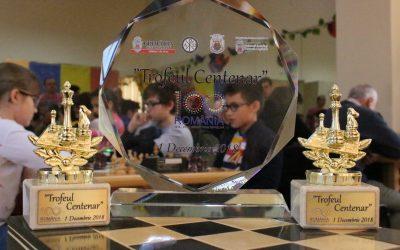 """Iubitorii de șah din Sectorul 6 """"s-au luptat"""" pentru Trofeul Centenar"""