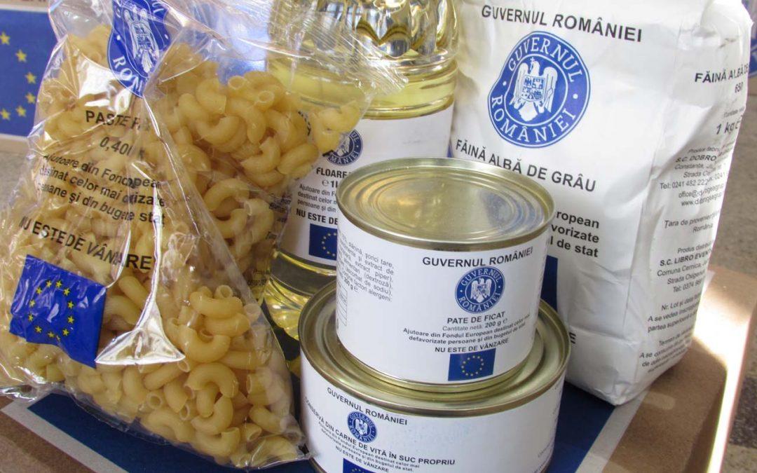 Peste 2.000 de persoane au primit alimentele de la Uniunea Europeană