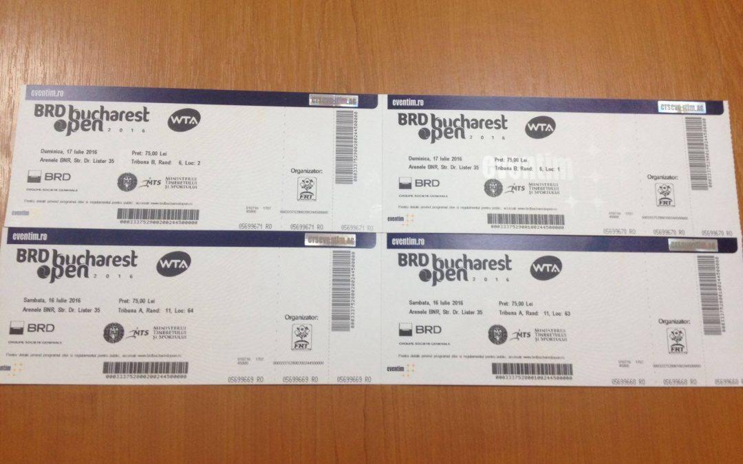 SocialXChange o aduce pe Simona Halep mai aproape de tine!  Licitaţie pentru 2 bilete tip abonament la BRD BUCHAREST OPEN WTA