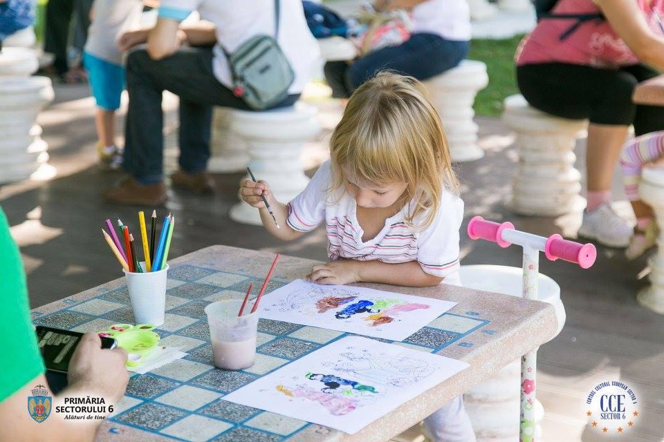 """""""Vara în parc"""" înseamnă distracţie pentru toţi copiii"""