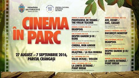 """""""Toamna Culturală"""" şi """"Cinema în parc"""", evenimente dedicate locuitorilor Sectorului 6"""