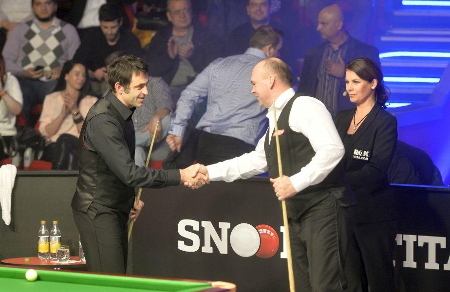 SocialXChange îţi dă posibilitatea să-i vezi în acţiune pe Ronnie O'Sullivan şi Mark Selby