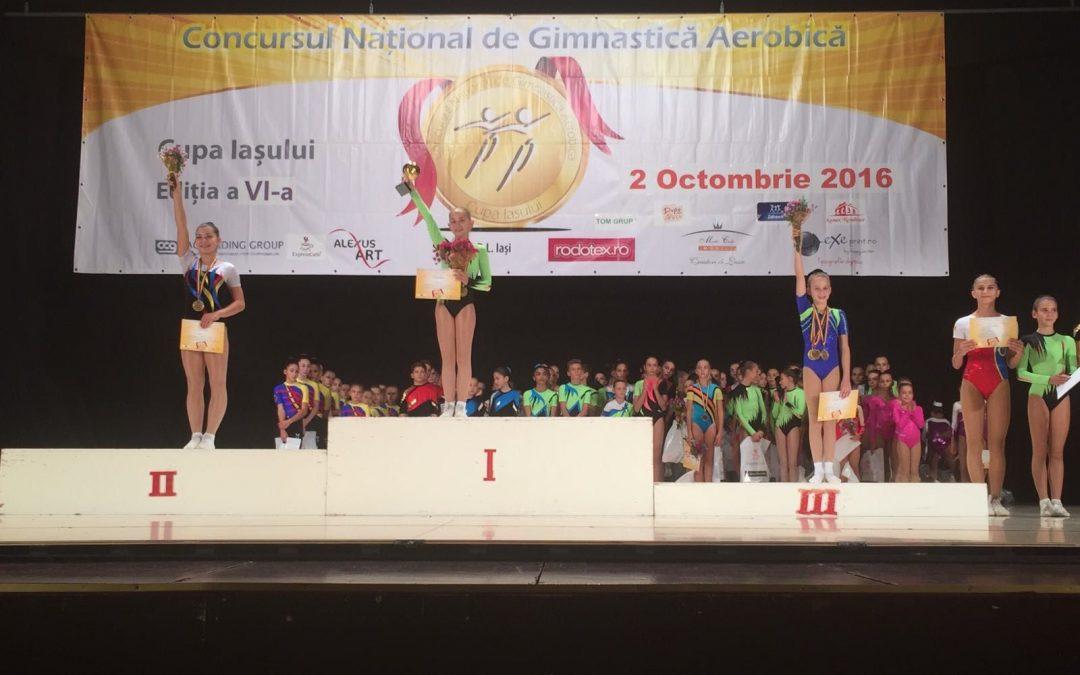 Aur şi argint pentru Miruna Iordache, copil talentat al Sectorului 6
