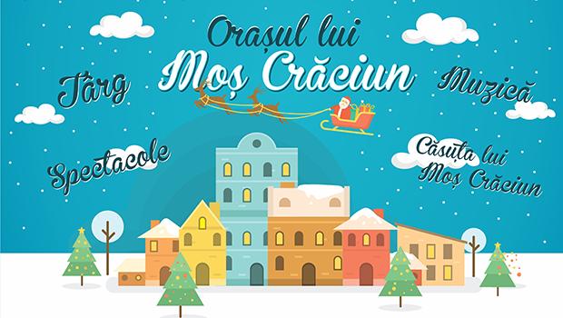 Pe 1 decembrie, în Crângaşi, se deschide ORAŞUL LUI MOŞ CRĂCIUN