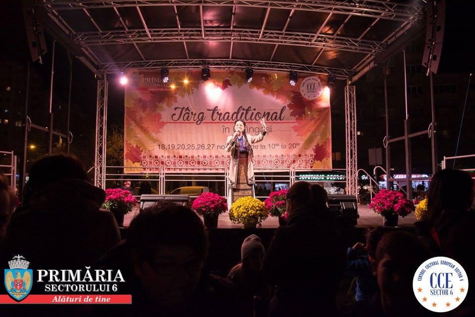 Târg tradiţional şi muzică populară în Crângaşi