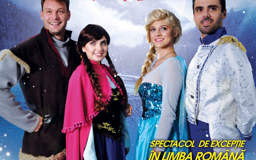 Frozen – Regatul Îngheţat, spectacol de excepţie la Sala Palatului