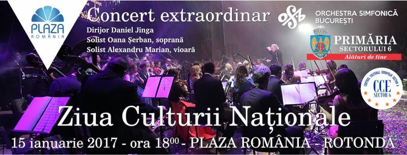 Ziua Culturii Naționale la Plaza România 2017
