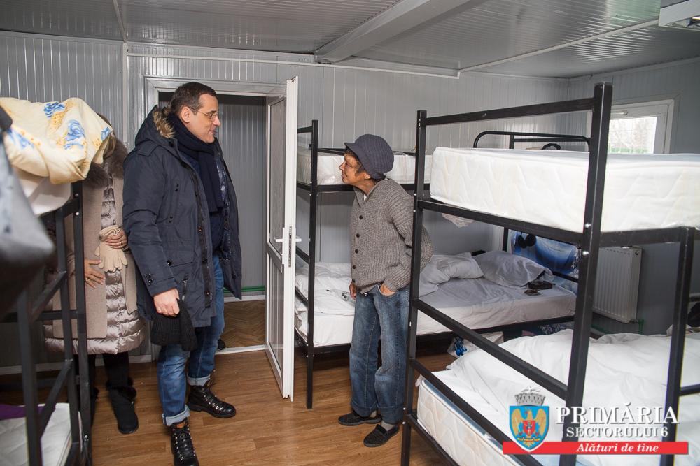 Sâmbătă şi duminică, poliţiştii locali au identificat 34 de persoane fără adăpost pe raza Sectorului 6