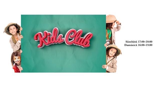 """În weekend, distracţia e în toi la """"Kids Club""""!"""