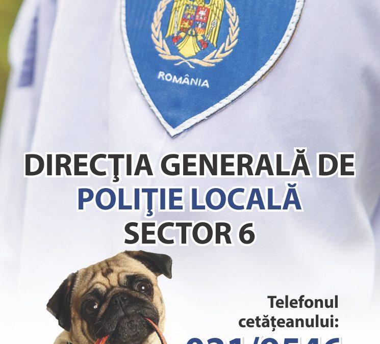 Campanie de informare pentru posesorii animalelor de companie