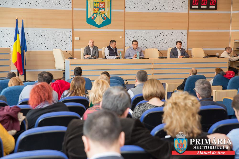 Dezbatere publică a Proiectului de Buget al Sectorului 6 pentru anul 2017