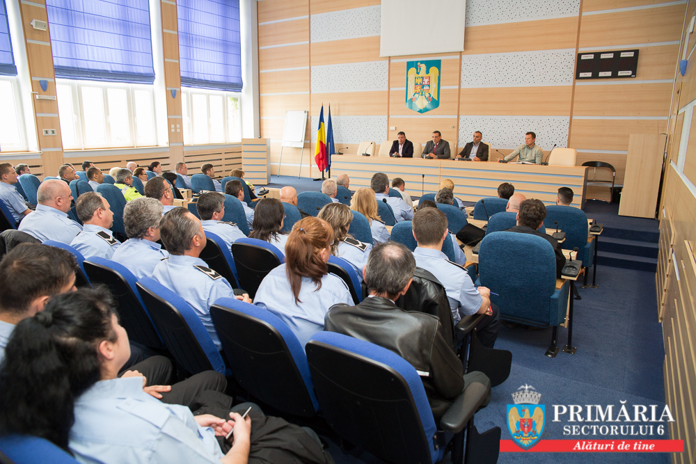 Primarul Gabriel Mutu doreşte un climat de siguranţă pentru locuitorii Sectorului 6