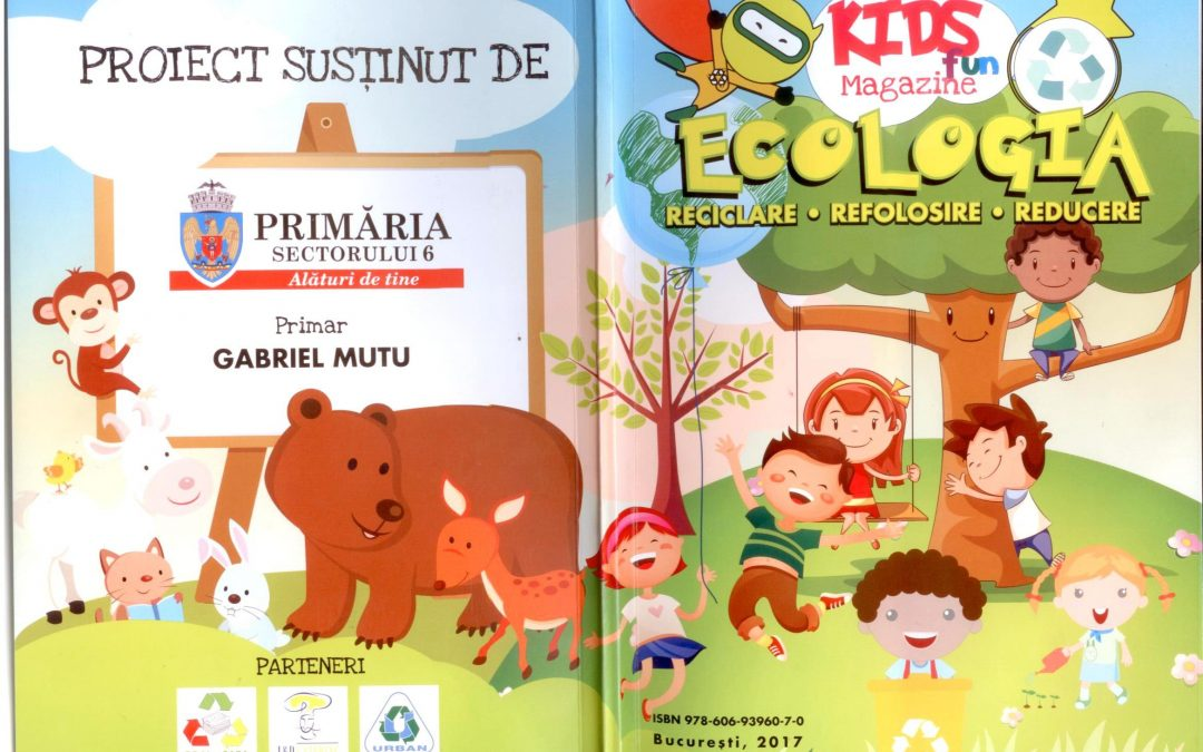 14.000 de copii din clasele 0-IV din Sectorul 6 învaţă într-un mod amuzant şi jucăuş despre ecologie şi reciclare