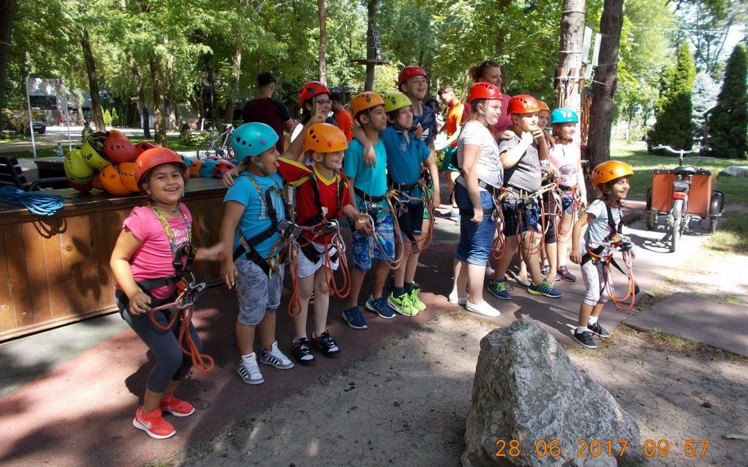 Aventura şi natura, noi atracţii pentru copiii defavorizaţi din Sectorul 6