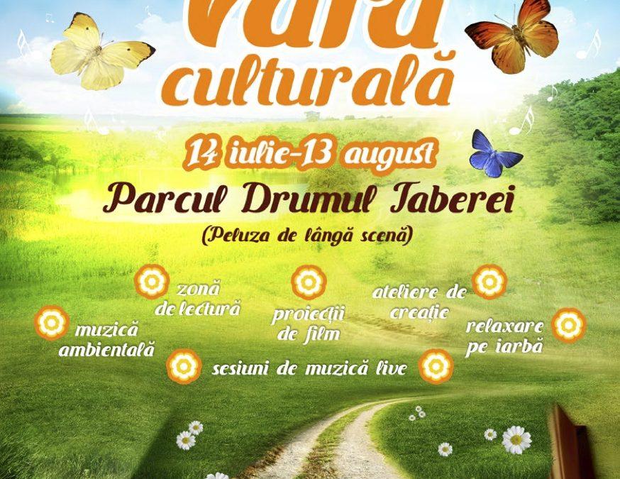 """Mâine începe """"VARA CULTURALĂ"""" în Parcul Drumul Taberei din Sectorul 6"""