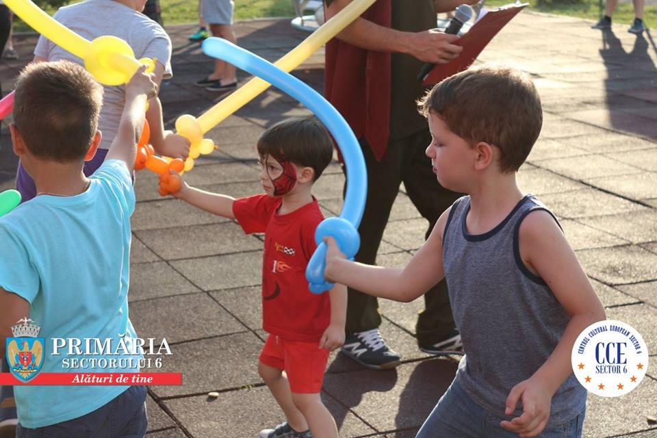 Parcul Crângaşi şi Parcul ANL Brâncuşi, locuri de distracţie pentru copiii aflaţi în vacanţa de vară