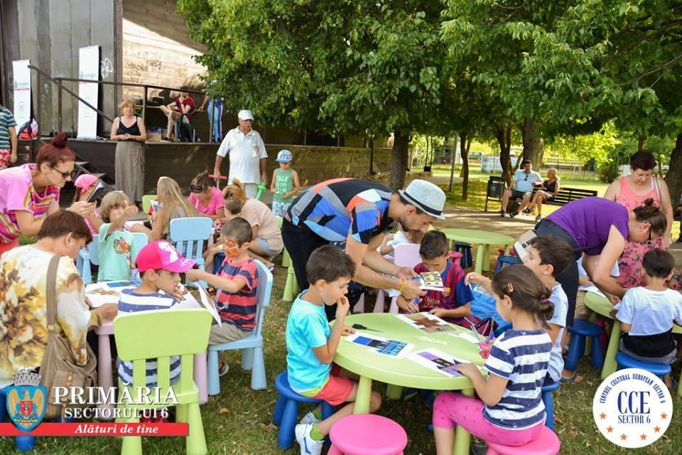 Copiii se pot distra în vacanţa mare în Parcul Crângaşi şi Parcul ANL Brâncuşi