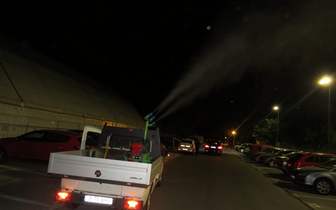 Stropiri anti-țânțari în toate cartierele Sectorului 6