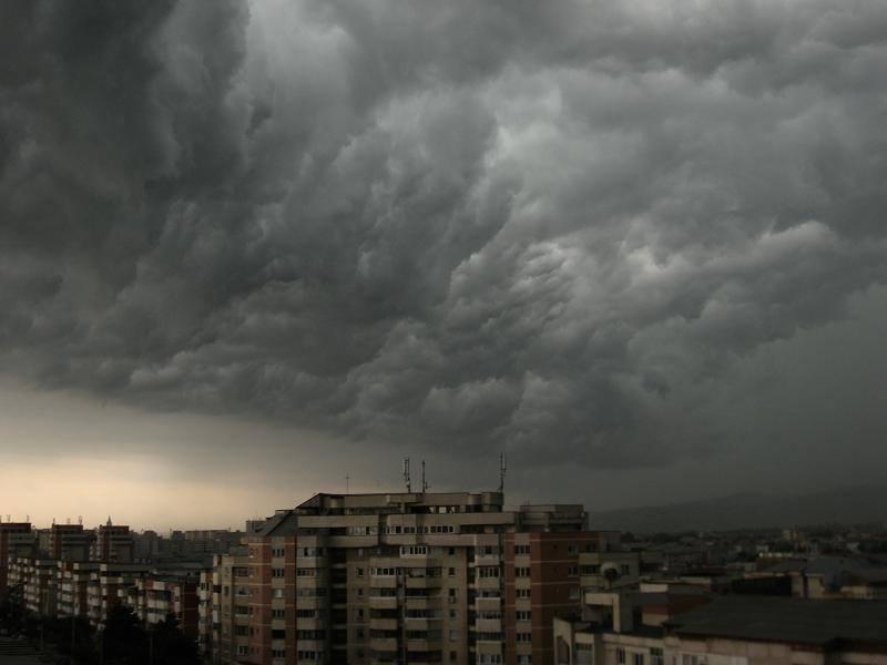 Recomandările Primarului Gabriel Mutu în urma avertizării meteorologice de vijelii și ploi