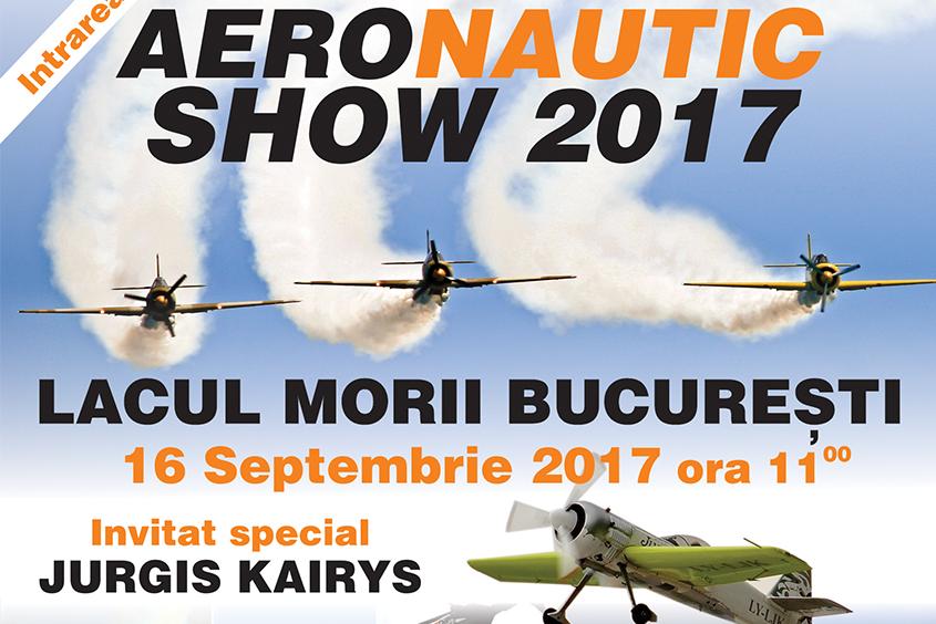 ÎNCEPE AERONAUTIC SHOW 2017 – cel mai așteptat festival de acrobații aeriene și nautice