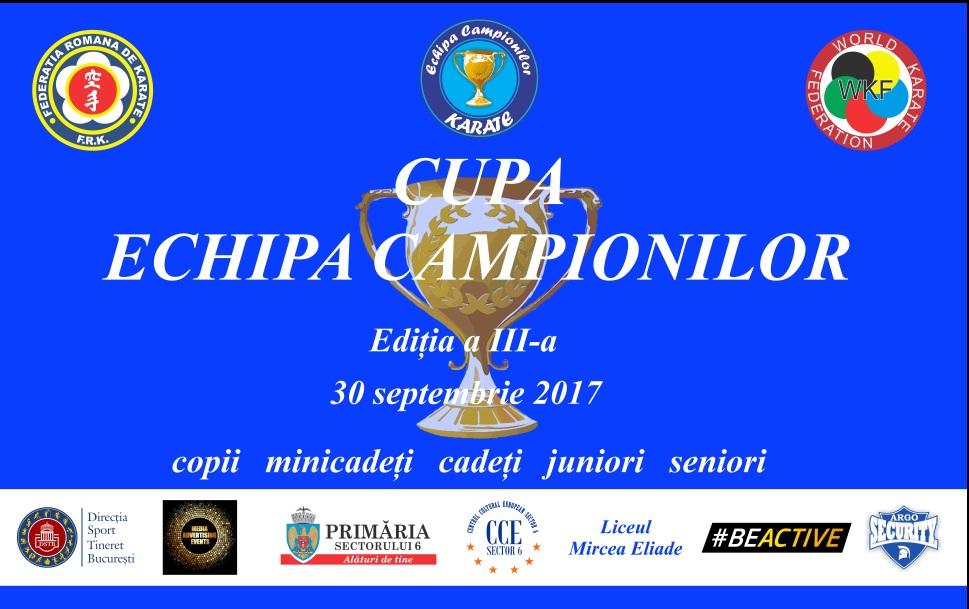 """Cupa """"Echipa Campionilor"""" va avea loc sâmbătă la Liceul Mircea Eliade, din Sectorul 6"""