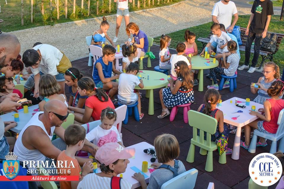 """Copiii sunt așteptați la """"Jocurile Copilăriei"""" şi la """"Vacanţa în parc"""" în ultimul weekend din vacanța de vară"""
