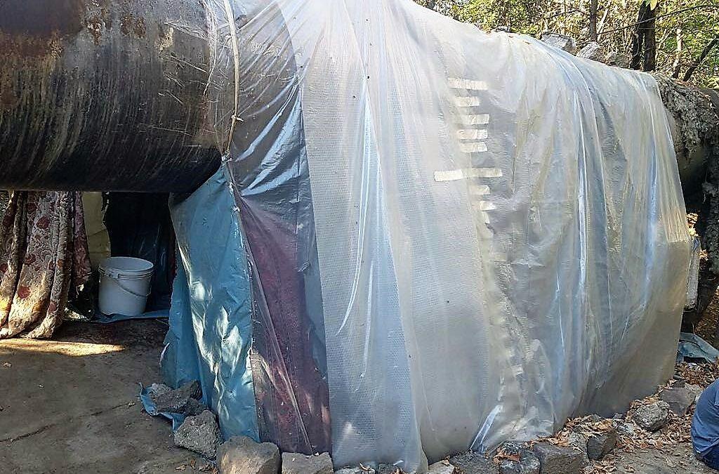 Au fost dezafectate adăposturile improvizate pe Șoseaua Grozăvești