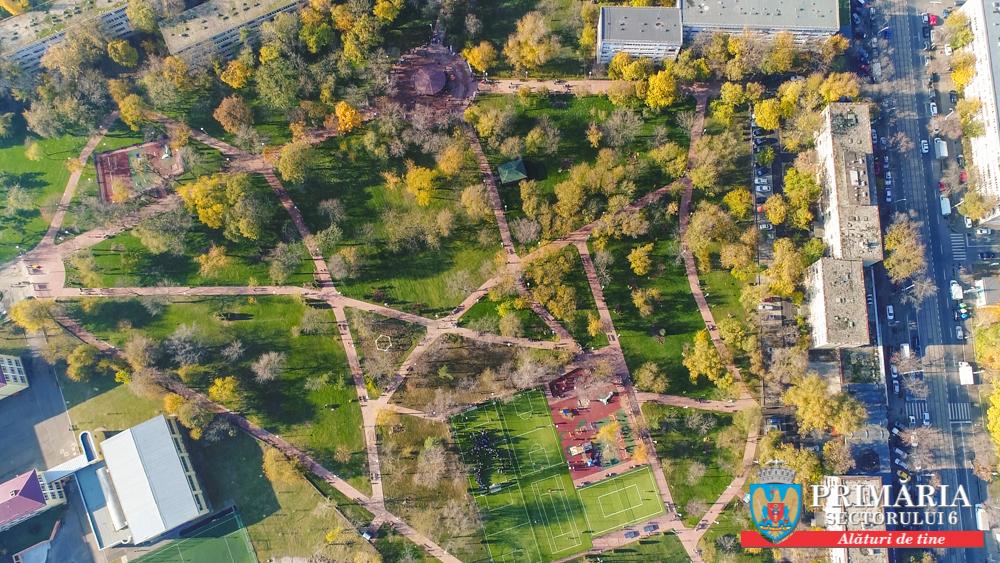 A fost deschis cel mai modern parc din Sectorul 6