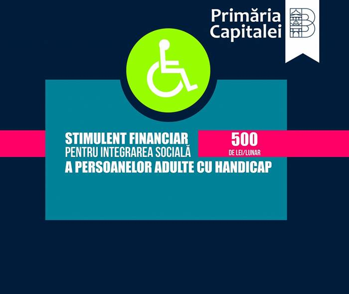 Anunt important! Stimulent financiar pentru integrare sociala