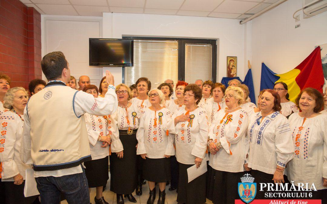 """""""La mulți ani, România!"""", din partea seniorilor din Sectorul 6"""
