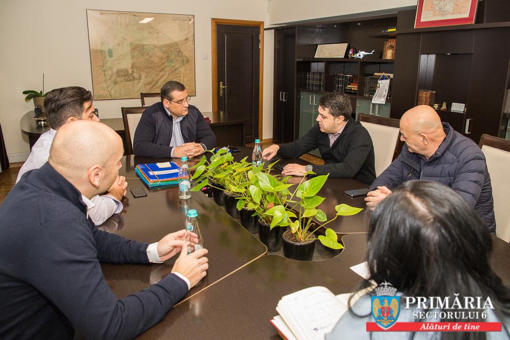 Primarul Gabriel Mutu s-a întâlnit cu reprezentanții RADET pentru urgentarea remedierii avariilor din Sectorul 6