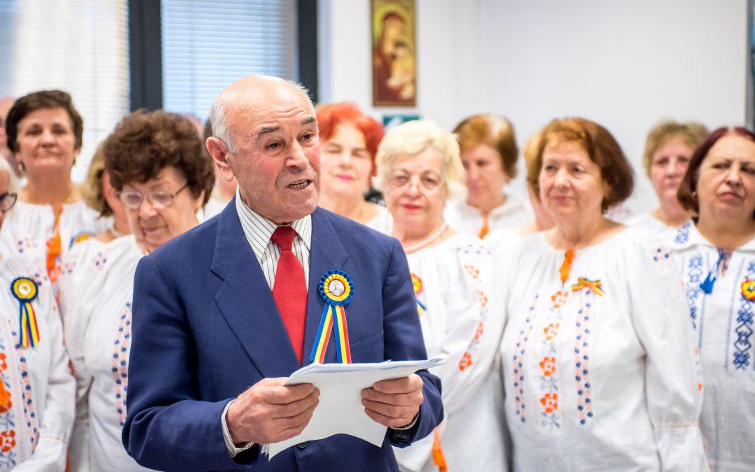 Seniorii Sectorului 6 au omagiat împlinirea a 159 de ani de la Mica Unire