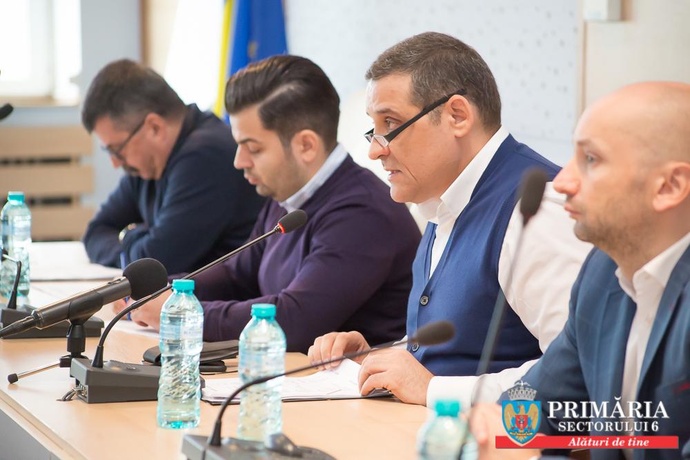Dezbatere publică privind Proiectul de Buget al  Sectorului 6 pentru anul 2018 la Primăria Sectorului 6